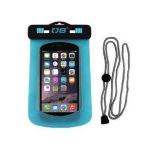 Over Board Waterproof Phone Case - Small Aqua